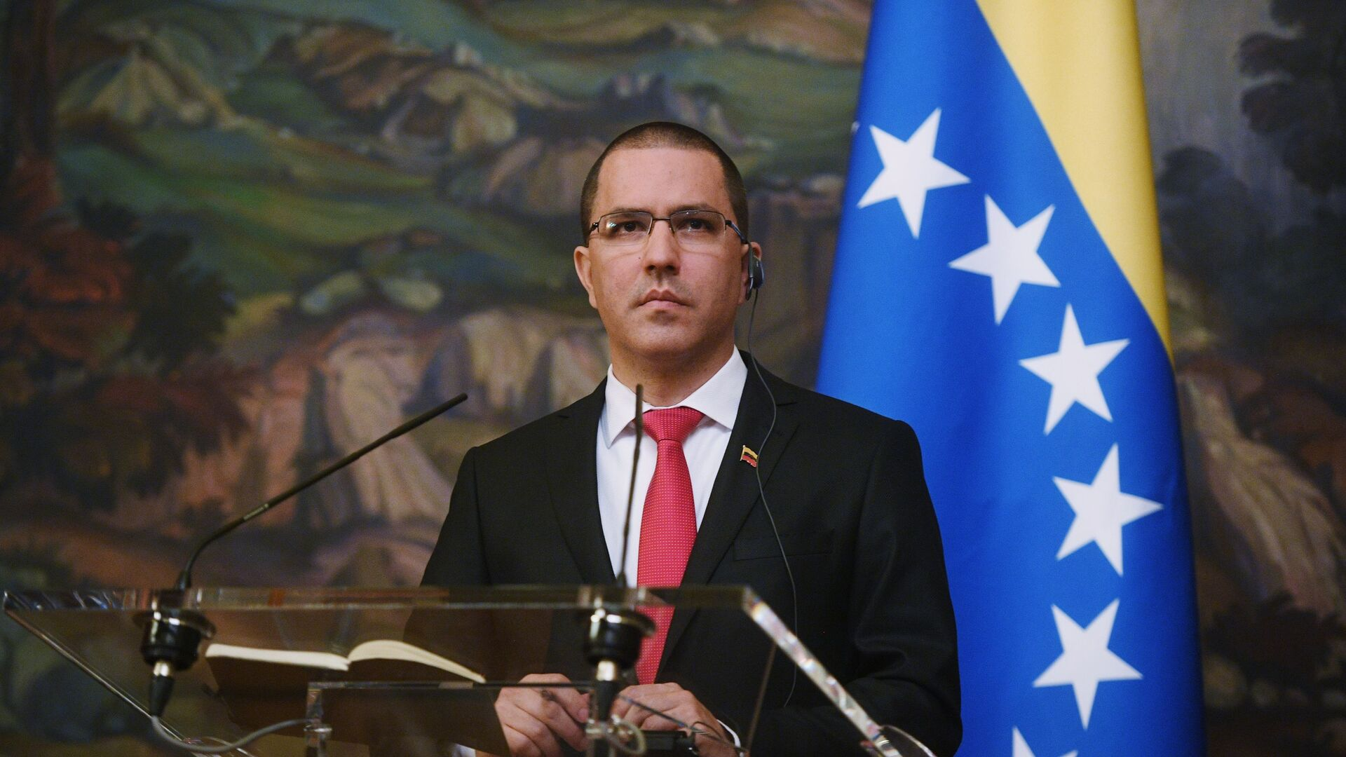 Jorge Arreaza, canciller de Venezuela - Sputnik Mundo, 1920, 22.04.2021