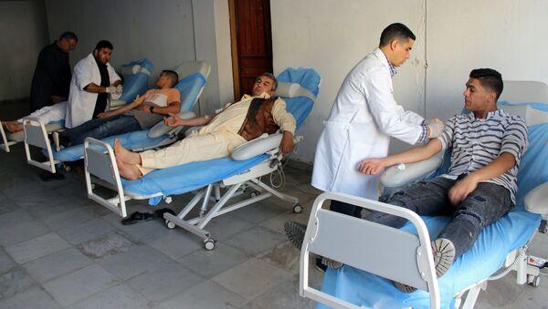 Situación en un hospital en Libia - Sputnik Mundo