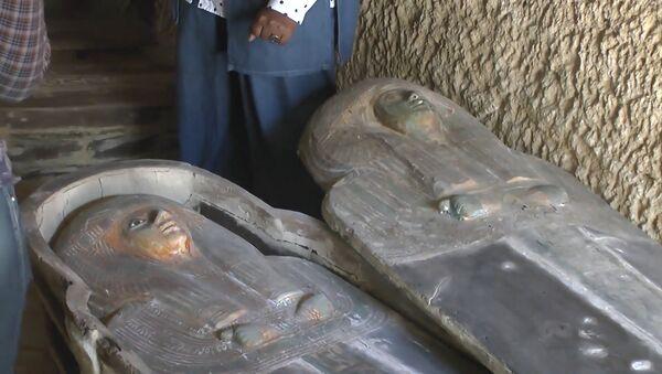 Egipto anuncia el descubrimiento de un cementerio de 4.500 años - Sputnik Mundo