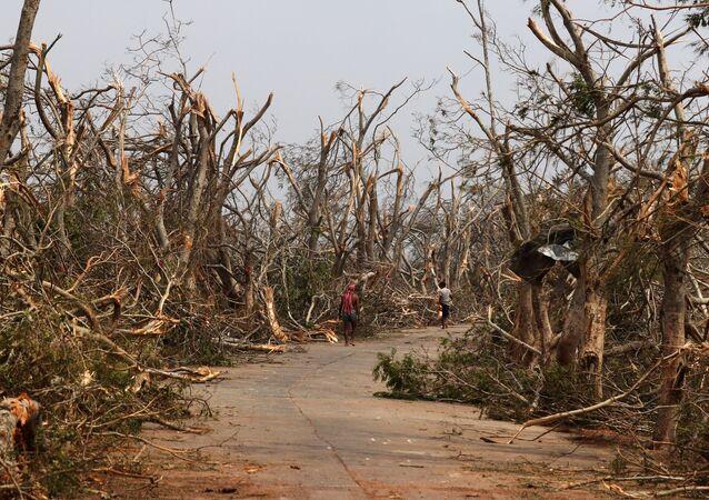 Las consecuencias del cicló Fani en el este de la India