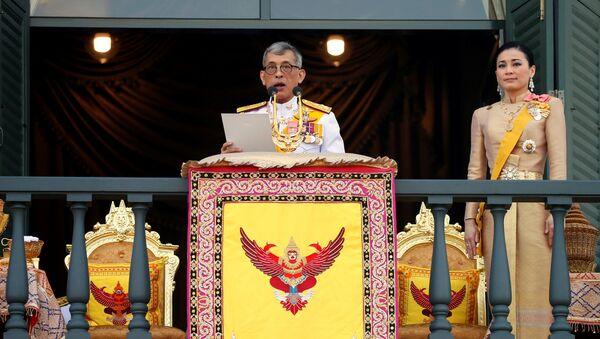 Maha Vajiralongkorn, el rey de Tailandia - Sputnik Mundo