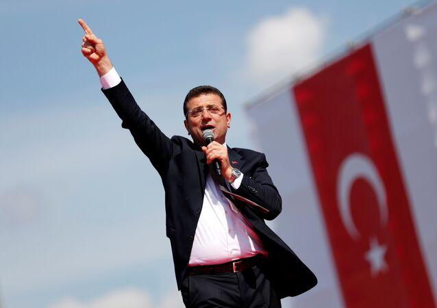 El candidato del Partido Popular Republicano (CHP) de Turquía, Ekrem Imamoglu
