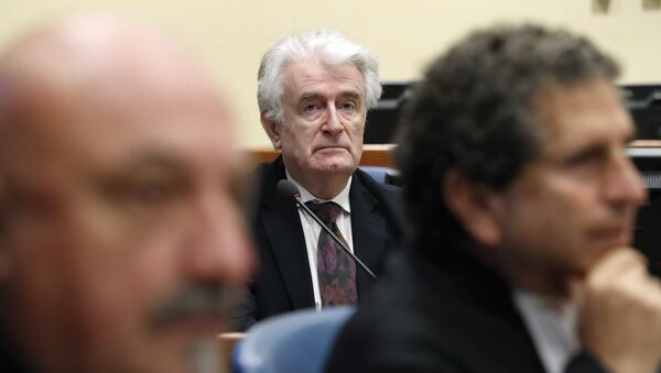 Radovan Karadzic, expresidente de la República Srpska (archivo) - Sputnik Mundo