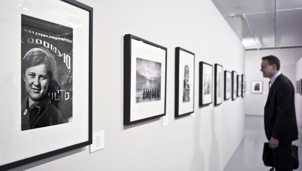 Una exposición del fotógrafo ruso Evgueni Jaldéi - Sputnik Mundo