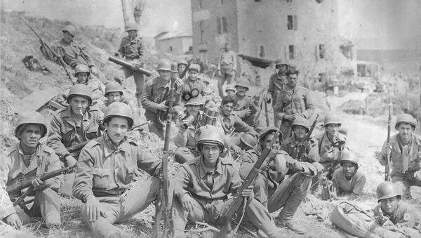 Soldados de la Fuerza Expedicionaria Brasileña en Italia - Sputnik Mundo