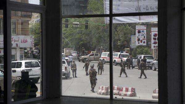 Fuerzas de seguridad afganas - Sputnik Mundo
