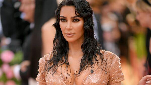 Kim Kardashian, celebridad estadounidense - Sputnik Mundo