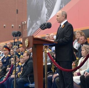 El presidente Vladímir Putin da las gracias a todos los veteranos por el Día de la Victoria