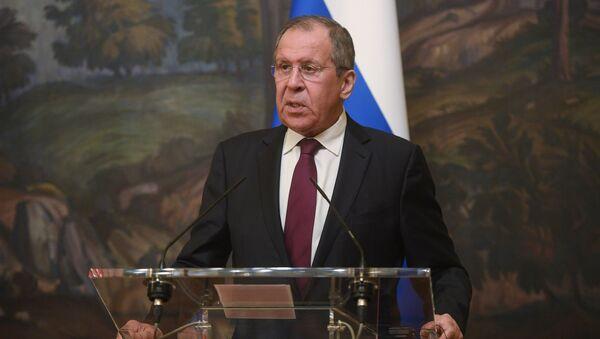 Serguéi Lavrov, ministro de Asuntos Exteriores de Rusia - Sputnik Mundo