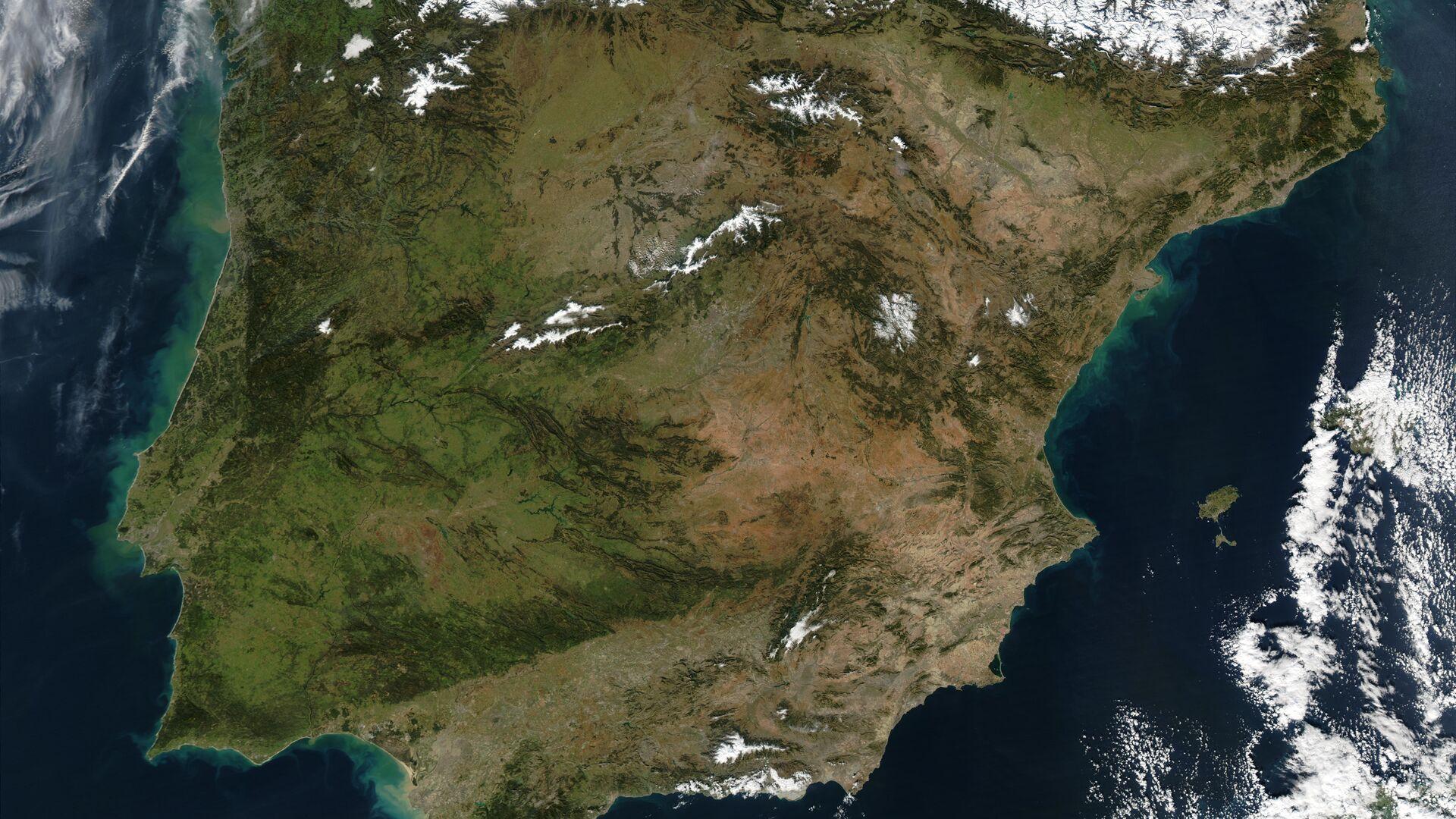 La península ibérica - Sputnik Mundo, 1920, 08.05.2021
