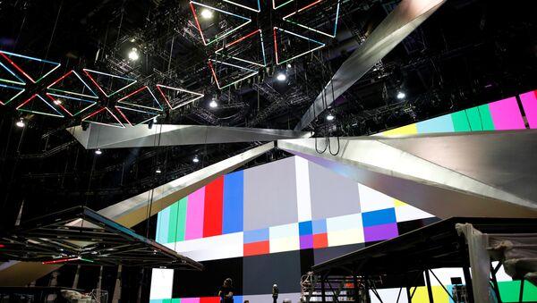 Preparativos del Festival de la Canción Eurovisión en Tel Aviv - Sputnik Mundo