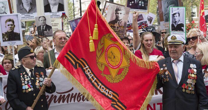 El Regimiento Inmortal en Londres, Reino Unido