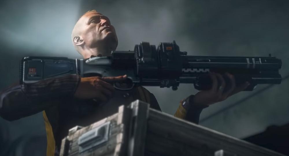 B.J. Blazkowicz, protagonista del juego Wolfenstein: The New Order