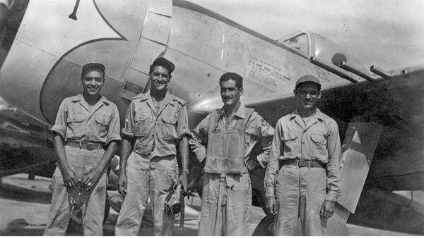 Miembros del Escuadrón 201, los mexicanos que fueron a combatir al frente del Pacífico en la Segunda Guerra Mundial - Sputnik Mundo
