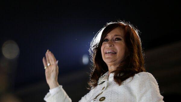 La expresidenta argentina Cristina Fernández de Kirchner - Sputnik Mundo