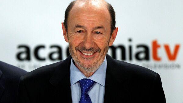 El ex vicepresidente español Alfredo Pérez Rubalcaba - Sputnik Mundo