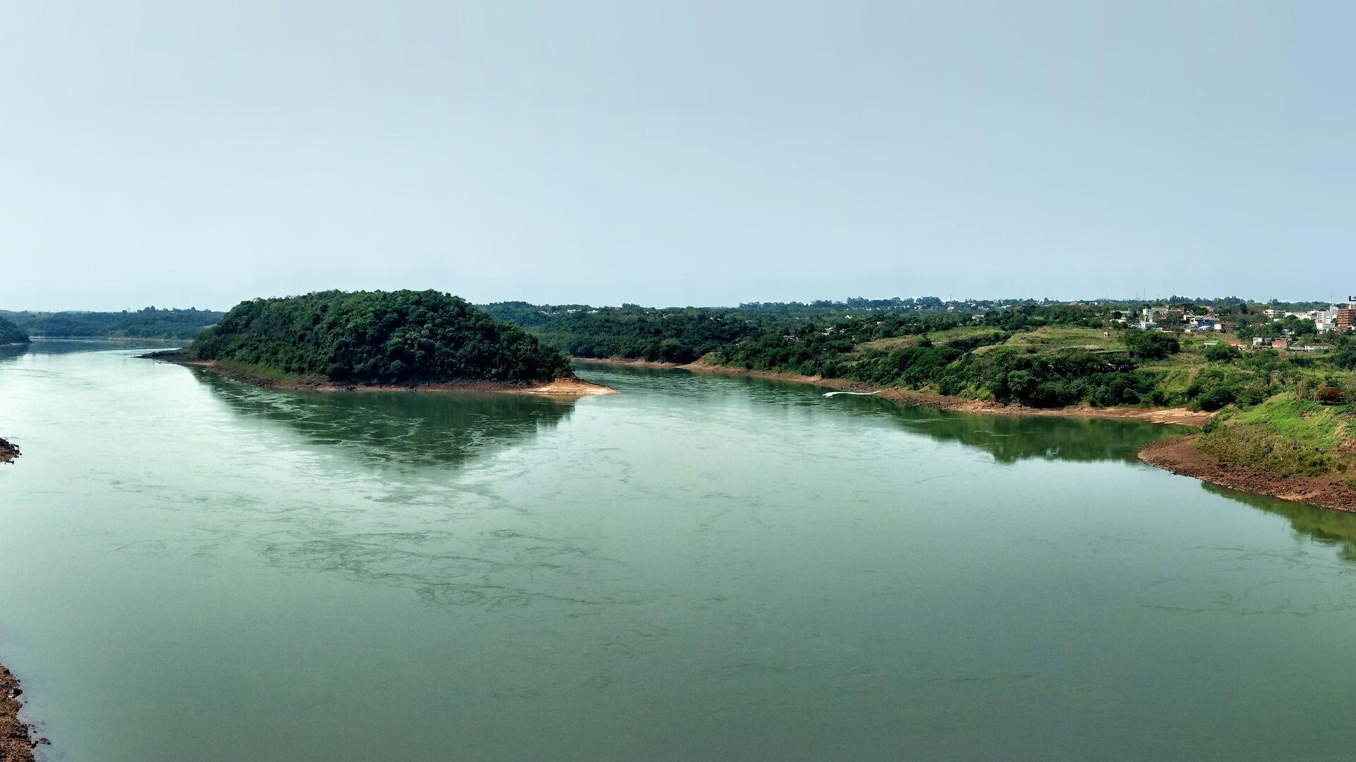 El río Paraná - Sputnik Mundo, 1920, 12.04.2021
