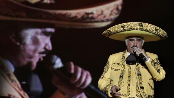 Cantante mexicano Vicente Fernández - Sputnik Mundo