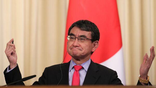 Taro Kono, ministro de Exteriores de Japón - Sputnik Mundo