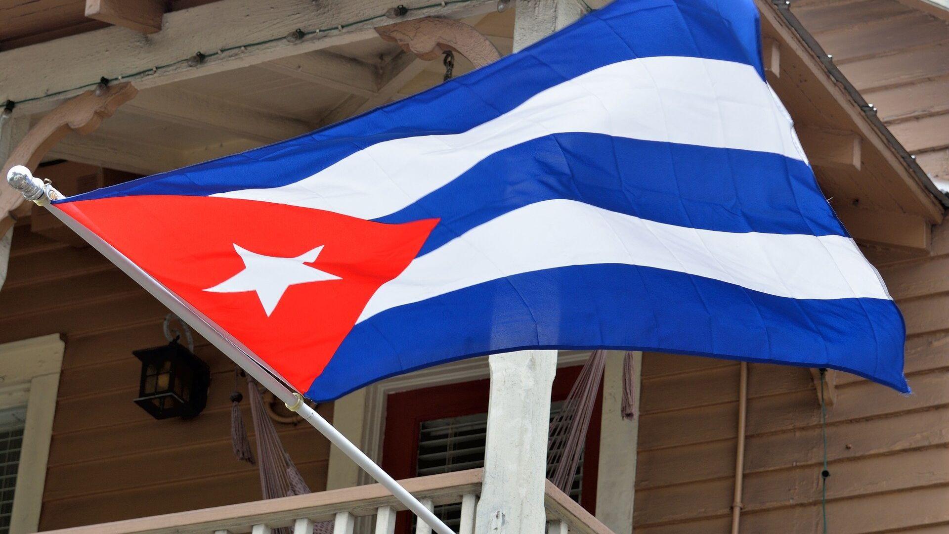 La bandera de Cuba - Sputnik Mundo, 1920, 24.07.2021