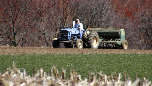Un granjero estadounidense - Sputnik Mundo