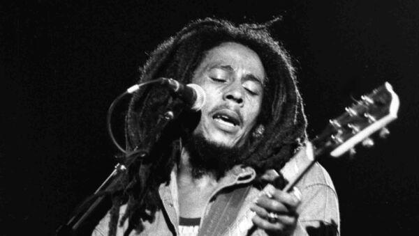 Bob Marley en 1980 - Sputnik Mundo