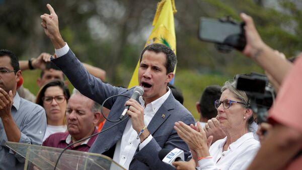 Juan Guaidó, líder opositor venezolano - Sputnik Mundo