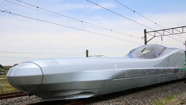 Tren bala japonés Alfa-X - Sputnik Mundo
