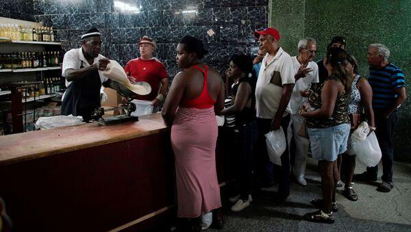 Venta de arroz en Cuba - Sputnik Mundo