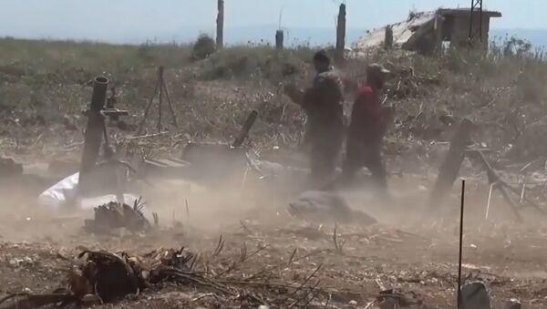Intensos combates se desarrollan en la provincia siria de Hama - Sputnik Mundo