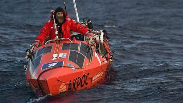 Este explorador estuvo 154 días en el Pacífico hasta llegar a Chile - Sputnik Mundo