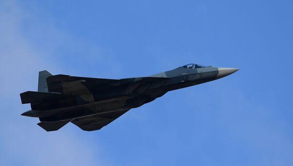 Caza Su-57 - Sputnik Mundo