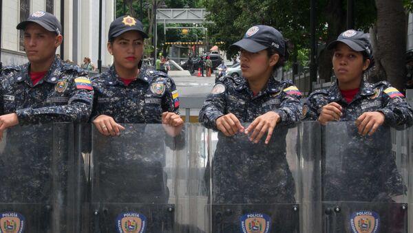 Miembros del PNB delante del Palacio Federal Legislativo - Sputnik Mundo