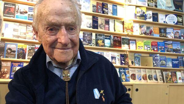 Ronnie Scott, piloto argentino de origen británico que combatió con las fuerzas del Reino Unido en la Segunda Guerra Mundial - Sputnik Mundo