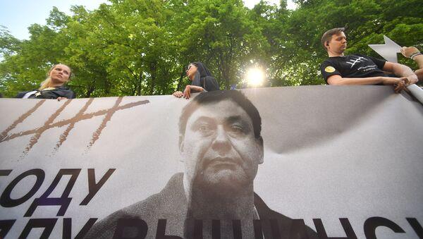 El retrato del periodista ruso Kiril Vishisnki - Sputnik Mundo