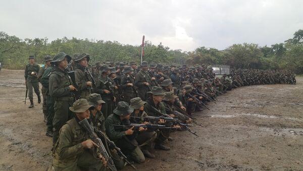 Cadetes de la Academia Militar Bolivariana de Venezuela - Sputnik Mundo