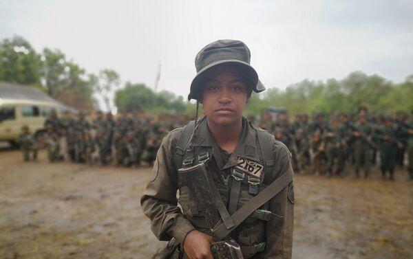 Cadete de la Academia Militar Bolivariana de Venezuela - Sputnik Mundo
