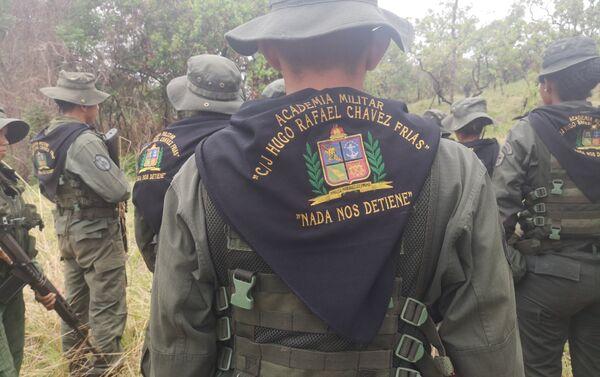 Cadetes de la Academia Militar C/J Hugo Chávez Frías - Sputnik Mundo