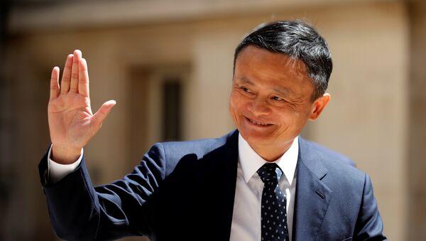 Jack Ma, fundador de Alibaba - Sputnik Mundo