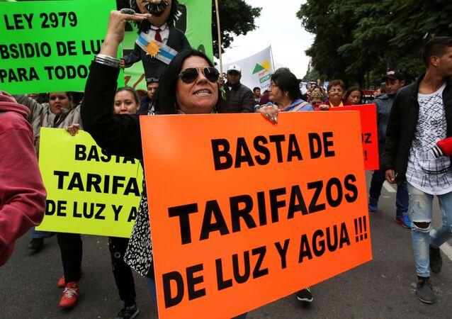 Protestas en Buenos Aires
