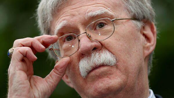 John Bolton, asesor en Seguridad Nacional del Gobierno de EEUU - Sputnik Mundo