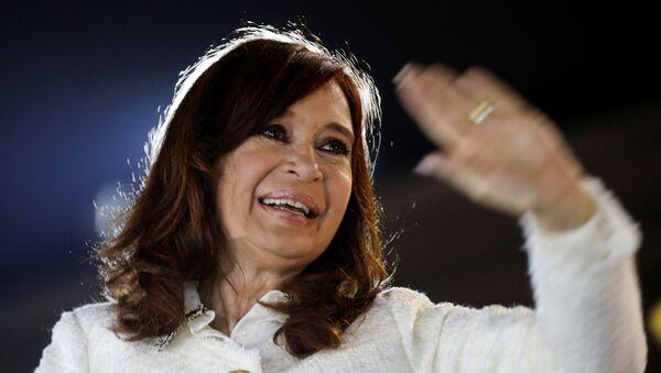 La expresidenta de Argentina, Cristina Fernández de Kirchner - Sputnik Mundo