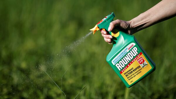 Roundup, agrotóxico con glifosato - Sputnik Mundo