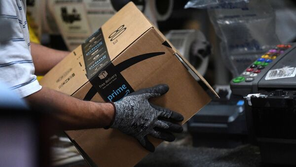 Almacen de empaquetamiento de Amazon en Baltimore - Sputnik Mundo