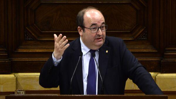 Miquel Iceta, diputado socialista español - Sputnik Mundo