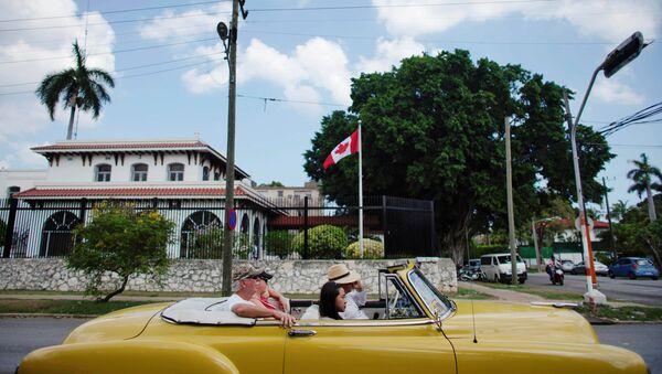 La Embajada de Canadá en la Habana, Cuba - Sputnik Mundo