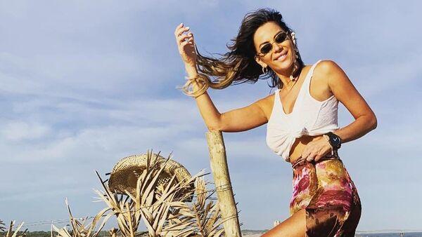 Karina Jelinek, modelo argentina - Sputnik Mundo