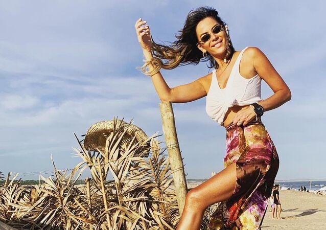 Karina Jelinek, modelo argentina