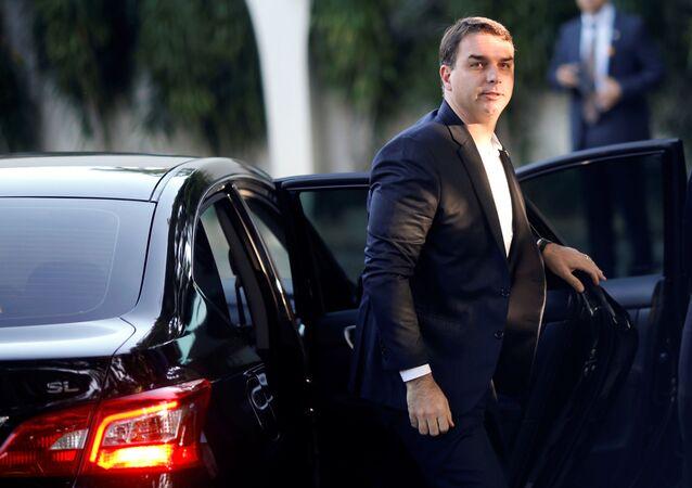 Flávio Bolsonaro, senador brasileño