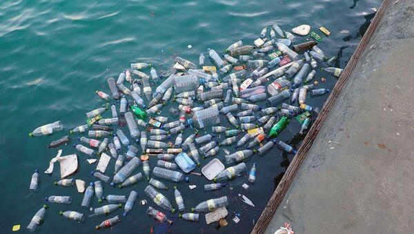 Plástico en el mar - Sputnik Mundo